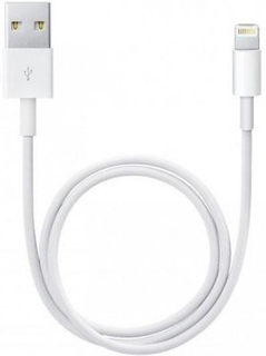 Oplader til iPhone eller Android (Type: Apple Lightning 1m)