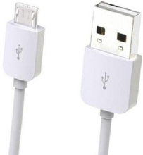Oplader til iPhone eller Android (Type: Micro USB 1m)