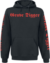 Grave Digger - Heavy Metal Breakdown -Hettegenser - svart
