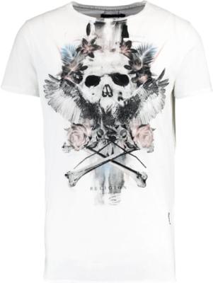 Religion SKULL EAGLE Tshirt med tryck white