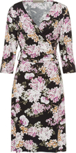 Jerseyklänning 3/4-ärm från Uta Raasch mångfärgad