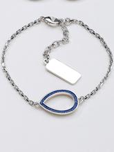 Armband droppformad detalj från Uta Raasch silver