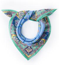 Nicki-Tuch aus 100% Seide Roeckl blau