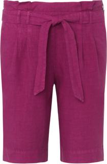Shorts i 100% linne från Peter Hahn lila