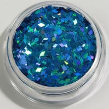 1st Rhombus / Diamonds glitter Blå