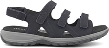 Green Comfort Sandal Camino Nubuck Marine Blue
