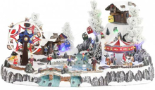 Isbane, skøyter og tivoli - juleby Luville