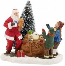 Gaver fra julenissen - juleby