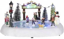 Isbane til skøyting - juleby Luville