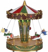 Karusell tivoli marked - juleby Luville