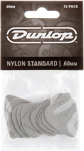 Dunlop Nylon Standard 0.60mm, 12 pcs.