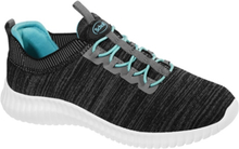 Scholl Chilly Sneakers Dk Grey Aquamarine