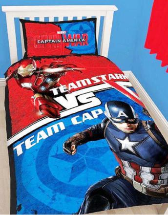Captain America Civil War Sengesett