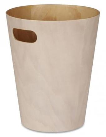 Umbra - Woodrow - Papirkurv, Hvit/natur