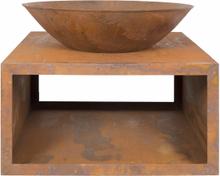 LA HACIENDA Moho bålfad - rust stål