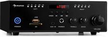 Amp4 BT SE mini-stereo-förstärkare Bluetooth fjärrkontroll svart