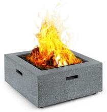 Karthago eldfat 40x40cm BBQ-Pit gnistskydd MagicMag granitstil
