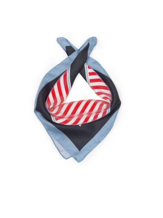 Bandana i 100 % silke från mayfair by Peter Hahn mångfärgad