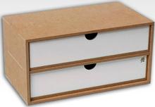 Hobbyzone Module OM02b 2x Drawers 2 skuffer med skillevegger - 30 cm
