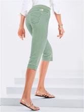 """""""Comfort Plus""""-capribyxa modell CAROLINA från Raphaela by Brax grön"""