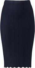 Stickad kjol från Gerry Weber blå