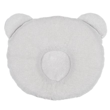 Panda Babykudde Ljusgrå