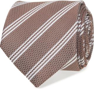 Tie Stripe Slips Brun ATLAS DESIGN