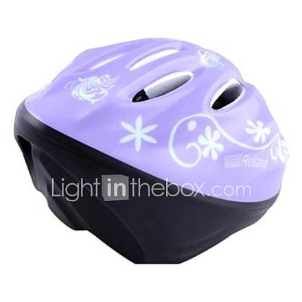 MOON Kids Purple Butterfly PC Suojaava Luistelu / Pyöräily Kypärät