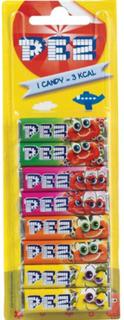 8 stk Pez Fruity Mix Refills