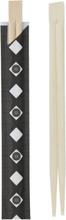 100 par Kinesiske Spisepinner i Bambus 21 cm