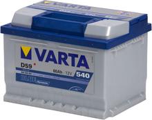 Bilbatteri Blue Dynamic D59 - 60A