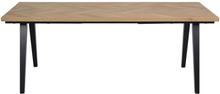 Morgantown - Sildebensbord egetræ 200/290 cm - Forberedt til tillægsplader
