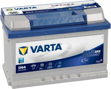 Batteri D54 Blue Dynamic EFB - 65Ah