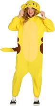 Pokemon Inspirert Pikachu Kigurumikostyme