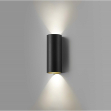 Zero W2 Seinävalaisin Musta/Kulta - LIGHT-POINT