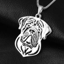 Halsband hund mastiff silverfärgad 3a5ec06dacd8e