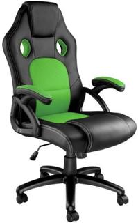 Kontorstol Tyson - sort/grøn