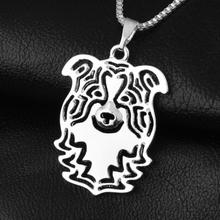 Halsband hund border collie silverfärgad 9082278c7e01b