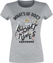 Looney Tunes - What's up doc? -T-skjorte - gråmelert