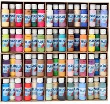 Plus Color hobbyfärg, 60x60 ml, mixade färger