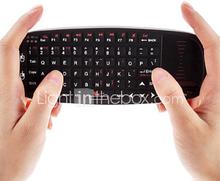 RII mini i10 MWK-10 2.4GHz langaton näppäimistö hiiri ohjauslevy IR kauko android tv tabletti tietokone pc