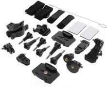 24 i 1 Hållare - Tillbehörs-Kit till GoPro