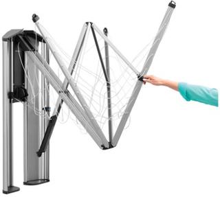 Brabantia Skyddsbox/kåpa till Wallfix i rostfritt stål Mattborstat Stål