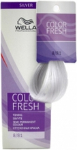 Wella Color Fresh 8/81 Light Blonde Pearl Ash 75ml