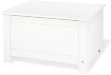 Förvaringsbänk, Vitlackerad Furu - Furniture & Storage