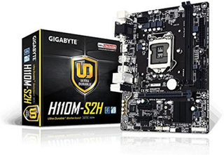 Moderkort Gigabyte H110M-S2H mATX LGA1151
