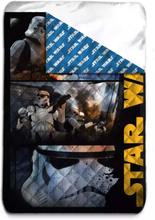Star Wars Stormtrooper Överkast/Sängöverkast Enkelsäng 140x200