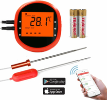 INF Smart trådlös stektermometer med 2 givare