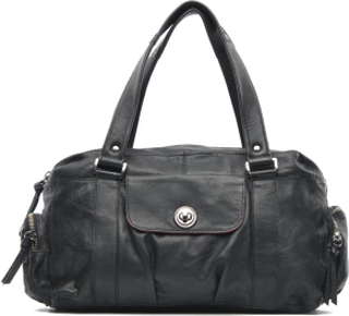 Totally Royal leather Small bag by Pieces