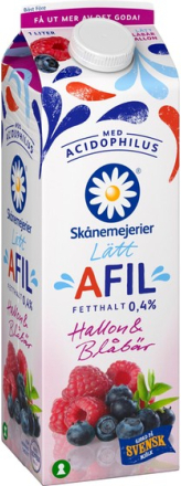 Lätt A-Fil Hallon & Blåbär 0,5%
